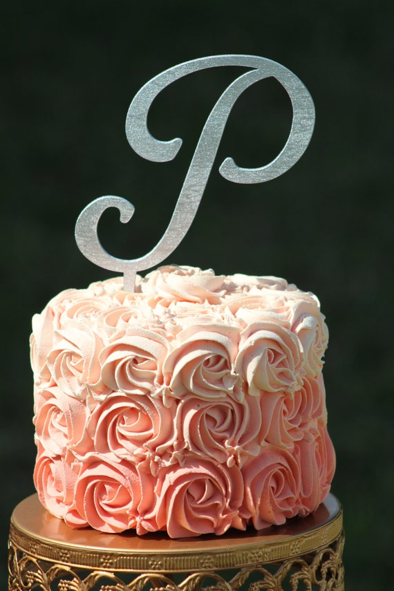 wooden wedding cake topper not on the high street silver monogram wedding cake topper wooden cake by weddingpros 27608