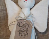 Primitive Christmas Angel