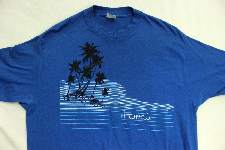 Hawaii 80s souvenir tee shirt l xl for Hawaii souvenir t shirts