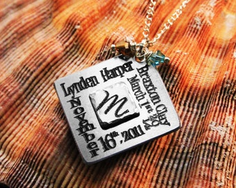 Mom Necklace - Personalized Family Necklace - Mother's, Couples & Children's Necklace for Mom - Perfect for Mother's Day