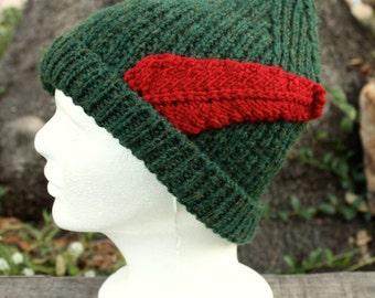 Peter Pan Beanie - Hand Knit