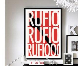 Hook ('Rufio') art print