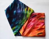 Rainbow Infinity Scarf // Silk Charmeuse // Single Loop Scarf // Rainbow Accessory // Fashion Gift