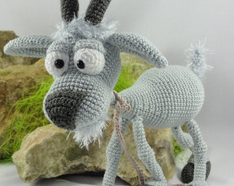 Amigurumi Crochet Pattern - Gus the Goat
