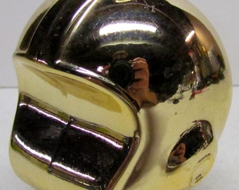 Vintage Avon Helmet Bottle / Decanter Figurine, It Is Empty - Collectible AVON - Home Decor