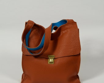 Anna - brown leather bag