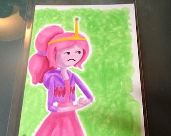 Princess Bubblegum Marker Sketch