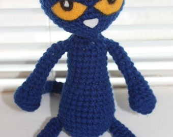 CROCHET PATTERN: Pete the Cat and Accessories