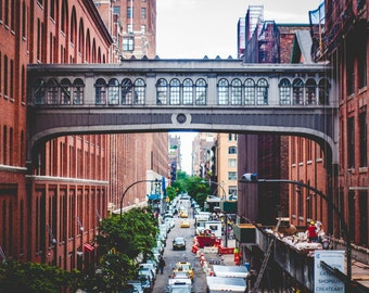 View from the Highline, New York City // Fine Art Photography // Photo Print