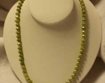 """PERIDOT 24"""" Necklace *SOLD"""