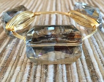 the GLAMOROUS brangle bracelet (tarnish resistant)