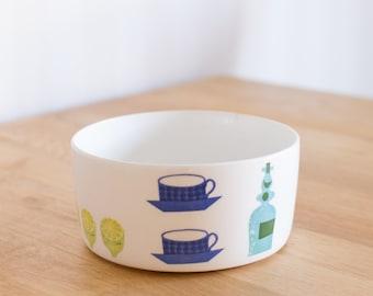 Gustavsberg Pynta Medium Bowl by Stig Lindberg Sweden 15cm