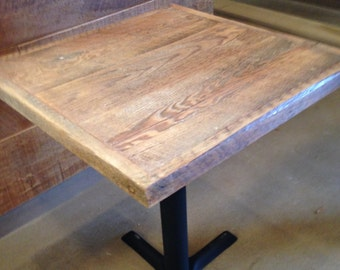 Reclaimed Wood Dining Table,pub Table Top, Bistro Table, Table Top ,ADD