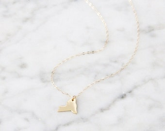 New York State Necklace - 1030