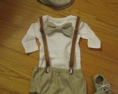 You choose the items,Baby boy vintagevstyle outfit, Diaper cover, Newsboy hat, Baby boy shoes, Bowtie, Baby Wedding clothes, Photo prop,Golf