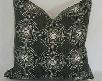 Jonathan Adler Super Nova in the color Noir for Kravet Pillow Cover