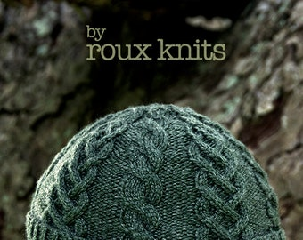 PATTERN Cable and Braid Knit Hat