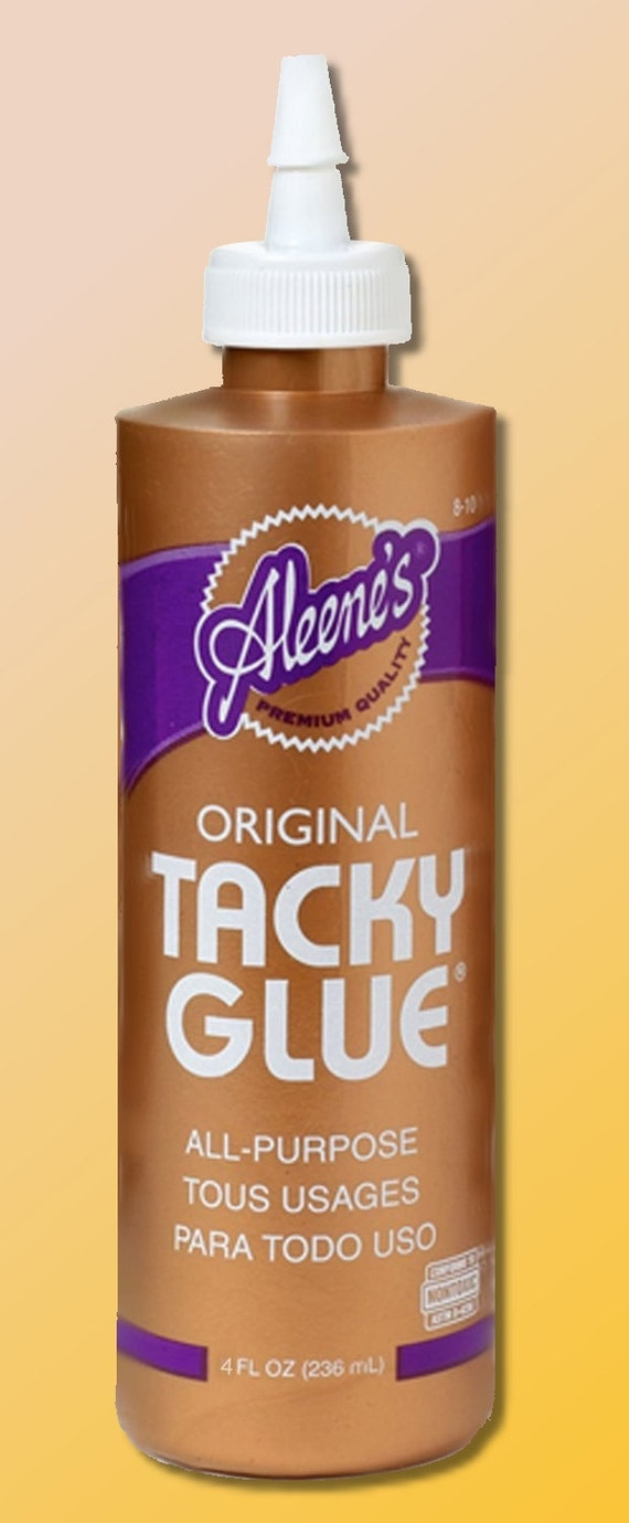 Aleene 39 s original tacky glue 4 fl oz all by for Craft glue that dries clear