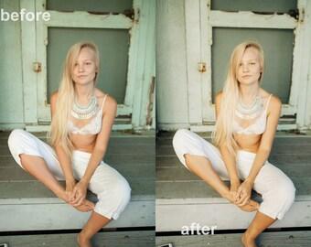 PINE LR Preset / Photoshop Lightroom Preset / Editing Tool Film Emulation Wedding Portrait Photography Preset