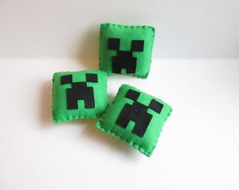Minecraft Party Favors, Creeper Plush, Minecraft Birthday (Unofficial)