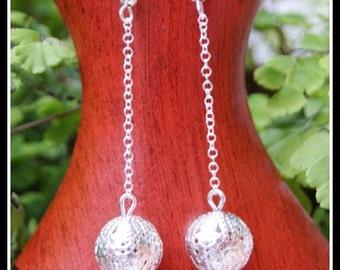 Chain Earrings, Filigree Earrings