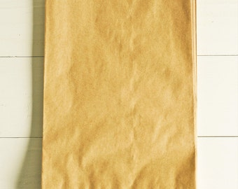 Paper Bags in Kraft Brown - Set of 20 - 6x9 Party Favor Kraft Packaging Gift Wrapping Wedding Holiday Plain Matte Sacks Merchandise