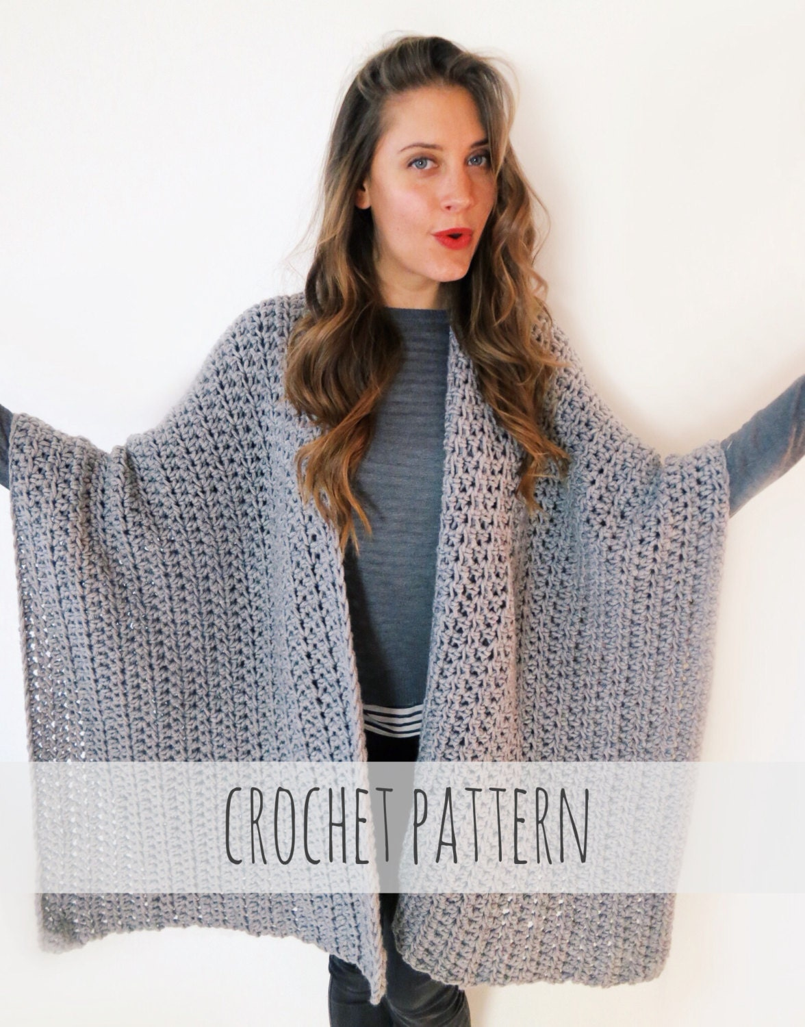 Crochet Poncho With Sleeves Pattern www.galleryhip.com ...