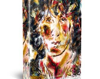 Jim Morrison Canvas, The Doors Original Painting Canvas Art Print