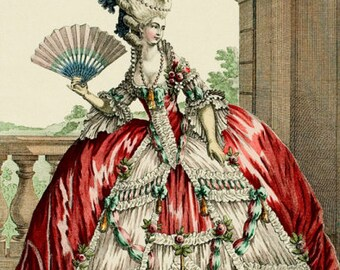 Custom MADE TO MEASURE Version of this Marie Antoinette Gown