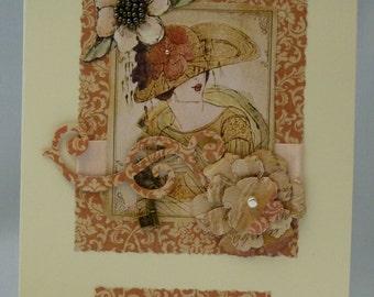 Handmade Card - Darling Wife's Birthday