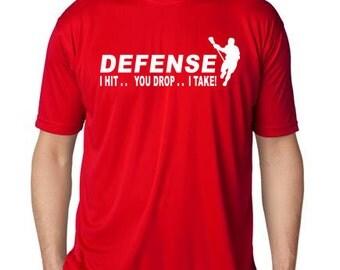 Defense Lacrosse T-Shirt