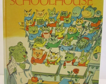 1969 Richard Scarry's Great Big Schoolhouse Hardcover