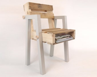 High Quality Reclaimed Pallet Wood Chair