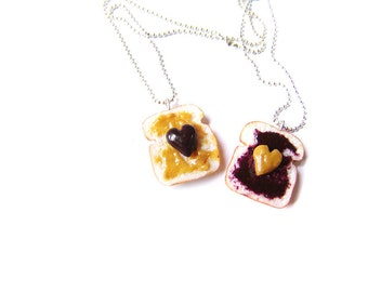 ... Peanut Butter and Jelly Sandwiches, BFF Hearts Toast Charms, Best