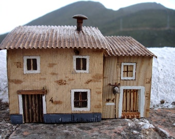 Spanish rustic mediterranean house