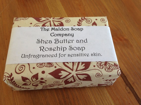 Shea Butter and Rosehip soap