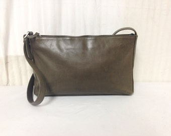 Tano Leather purse,bags ,purses,Green leather, Shoulder Bag