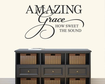 Amazing Grace Wall Art amazing grace | etsy