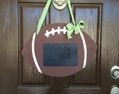 Football with Chalkboard Door Hanger