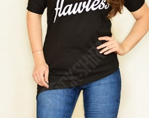 Flawless off shoulder tunic asymmetric tshirt for women rock shirt