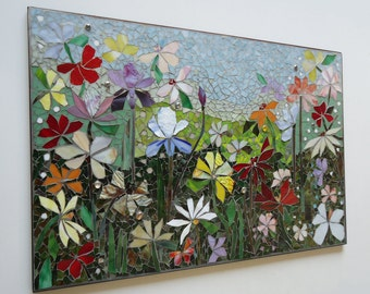 Mosaic Wall Art Outdoor 104