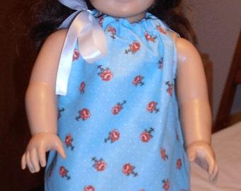 """American Girl  / 18"""" Doll Sundress - Blue"""