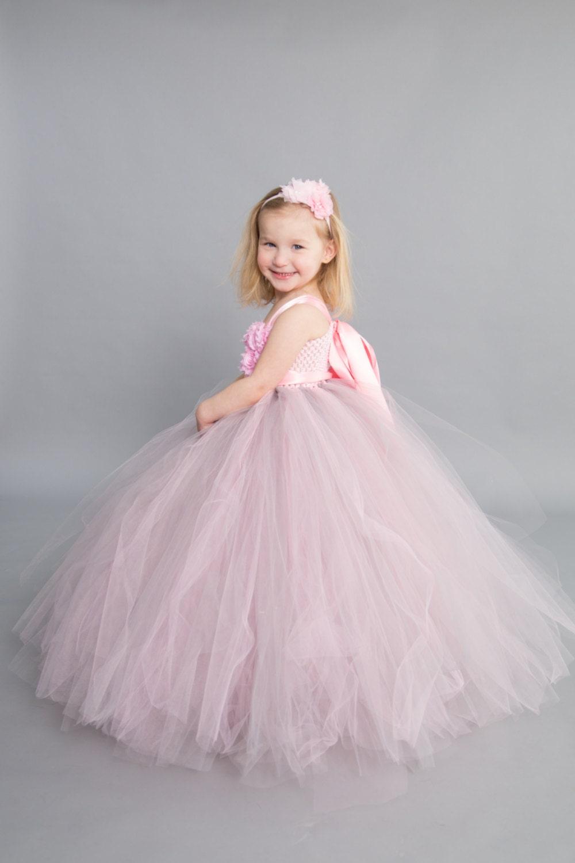 Flower Girl Dress Tutu Dress Tulle Dress Infanttoddler