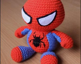 Handmade spiderman amigurumi Etsy