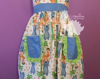 Custom Maxi Dress with pockets and ruffle sleeves - you choose the fabrics!
