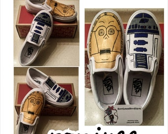 Star Wars Painted Vans