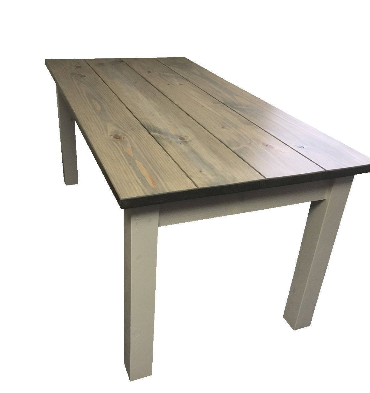 Driftwood Grey Harvest Table Farmhouse Table Farm Table