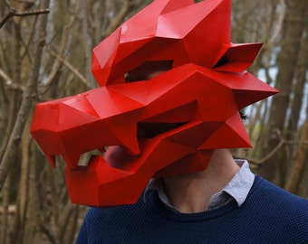 Dragon Mask V1 - perfect for Chinese Festivals