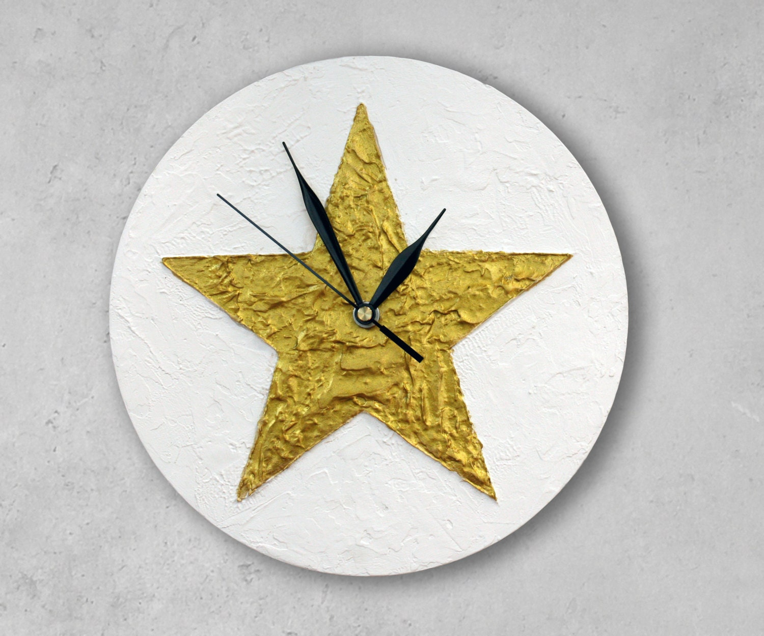 Star Wall Decor Ideas: Texas STAR WALL CLOCK Gold Star Home Decor Christmas Decor