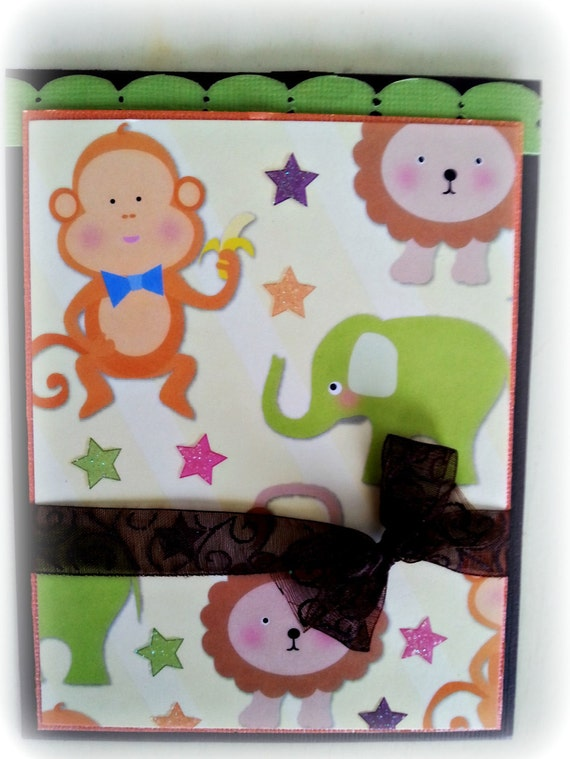 Baby Pocket Card. Ideal for Birthdays, Christening or a Baby Shower. Ready to ship
